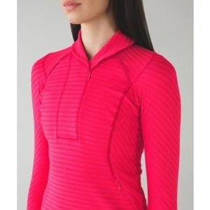 lululemon Think Fast Zip pullover Pink 8